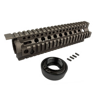 New Separable Quick installation Metal Picatinny rail system tactical handguard Rail system for AEG/M4 free shipping