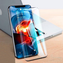 New Clear Edge Full Coverage Curved Tempered Glass Screen Protector Front Protective Film For iPhone 6 7 8