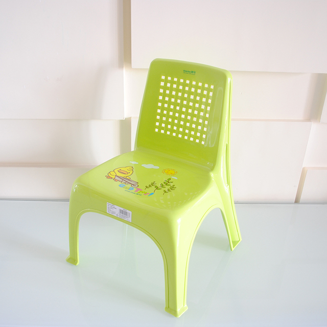 Delicieux Kid Chairs Child Cute Slip Plastic Stool Chair Seat Thickened 0821
