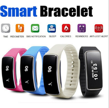 Smartband v5s bluetooth v4.0 llamada mensaje recordatorio reloj despertador podómetro inteligente reloj pulsera smartband smart watch oled