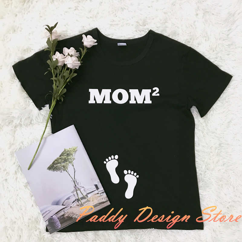 f6e798a757856 ... OKOUFEN mom dad baby couple Pregnancy Announcement Friends tshirt  fashion tumblr women mens casual family tee ...