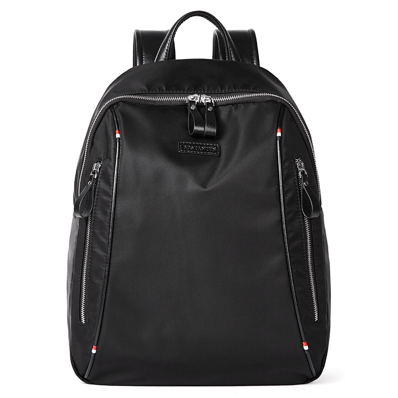 Canvas Backpack Bussiness High-Capacity Laptop Travel Student Waterproof Commute Young