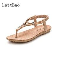 Sandalen Vrouwen Vrouwelijke Dame Casual slip Gladiator String Bead Slippers Schoenen Vrouw Zapatos Mujer