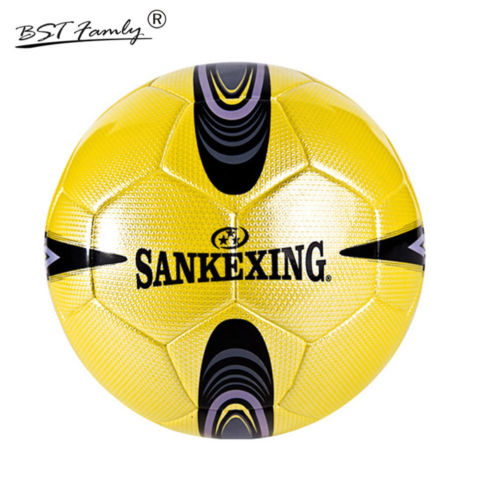 Soccer Ball Size 5 PU Leather Football Competition Training Professional Football Seamless Paste for Kids Adult Gift or Toy C15