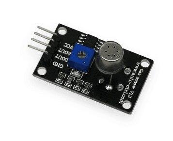 FREE SHIPPING 100% NEW TGS2600 Module Alcohol Smoke Cooking Gas Detection Sensor Module