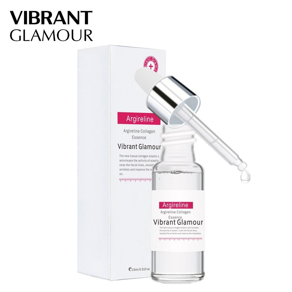 VIBRANT GLAMOUR Argireline Collagen Peptides Face Serum Cream Anti-Aging Wrinkle Lift Firming Whitening Moisturizing Skin Care 5