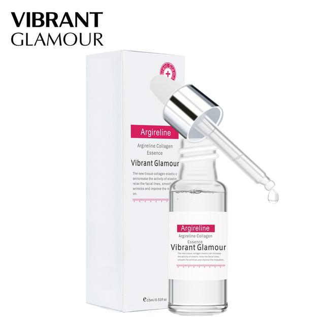 VIBRANT GLAMOUR Argireline Collagen Peptides Face Serum Cream Anti-Aging Wrinkle Lift Firming Whitening Moisturizing Skin Care