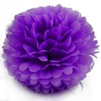 20 pcs Artificial Flores De Papel Fontes Do Casamento Do Estilo do Verão Bola Poms Decoração de Casa