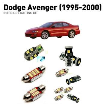Led interior lights For Dodge avenger 1995-2000 15pc Led Lights For Cars lighting kit automotive bulbs Canbus