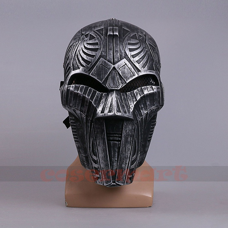 2017 Mowie Star Wars 7 The Force Awakens Mask Sith Lord Mask Cosplay Costume Resin Halloween Carnival Party (7)