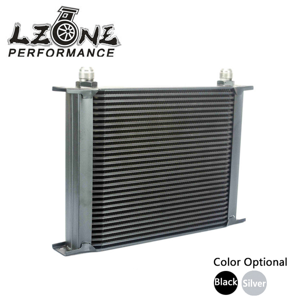 LZONE RACING - 30 ROW AN-10AN UNIVERSAL ENGINE TRANSMISSION OIL COOLER JR7030 vr racing 16 row an 10an universal engine transmission oil cooler vr7016 2
