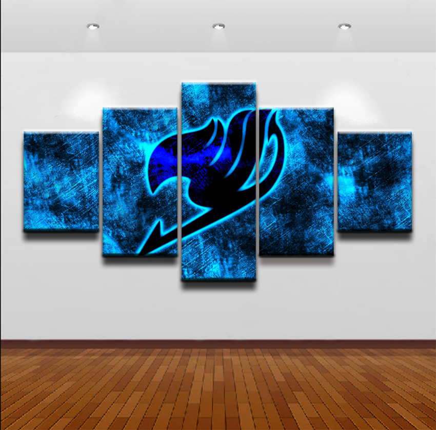 Fairy Tail Painting Wall Art Home Decor | Anime Crazy Store