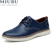 MIUBU Brand Spring Autumn Men Shoes Geniune Leather Fashion Comfortable Business Office Men Flats Footwear Big Size 47 Shoes Men-in Men's Casual Shoes from Shoes on Aliexpress.com | Alibaba Group