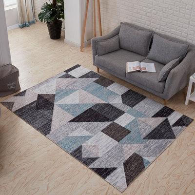 Tapis minimalistes Rose douce impression tapis salon chambre Style minable tapis décoratif tapis rond pour les chambres d'enfants