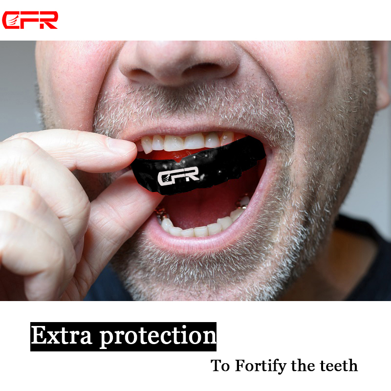 Hot CFR Mouthguard Boxing Sports MMA Football Basketball Mouth Guard Adult Oral Teeth Protect For Karate Muay Safety Protector