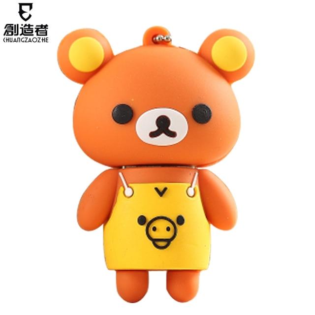 Usb flash drive 4g aprons bear cartoon usb flash drive personalized usb flash drive usb flash drive