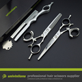 "6"" fly scissors swivel thumb shears barber professional hair dressing scissors japan scissors rotating thumb shears rotary shear"