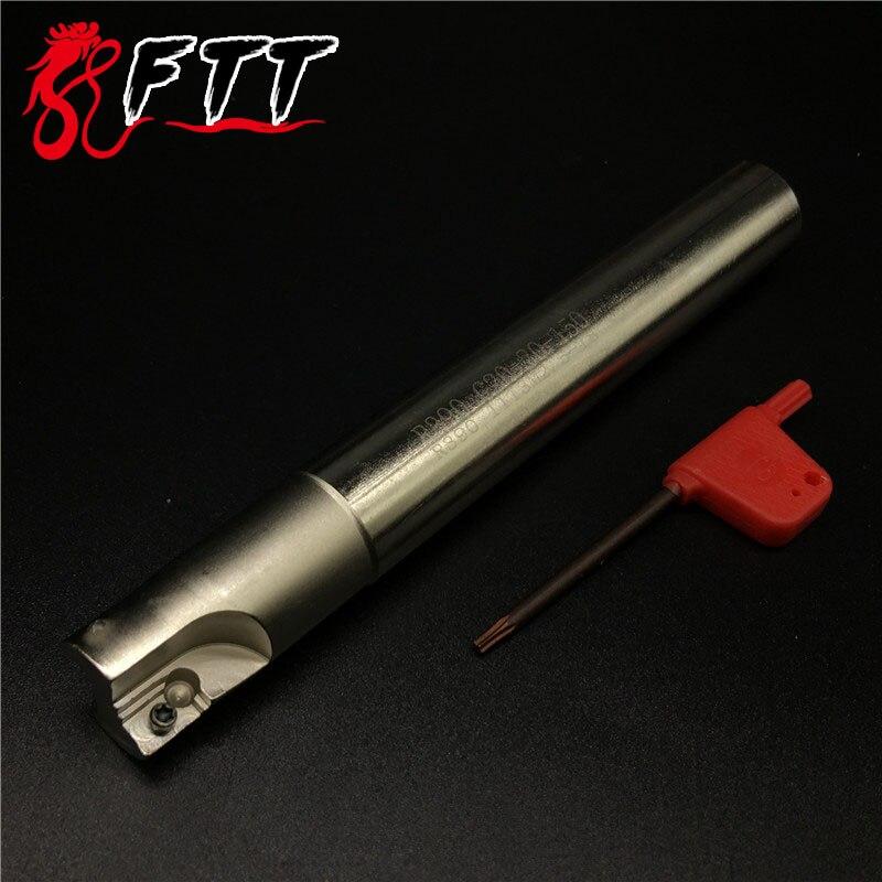 R390 C20 20 150 20mm 150Long Portafrese R390 11T308 Sgrossatura Tasca - Macchine utensili e accessori - Fotografia 2