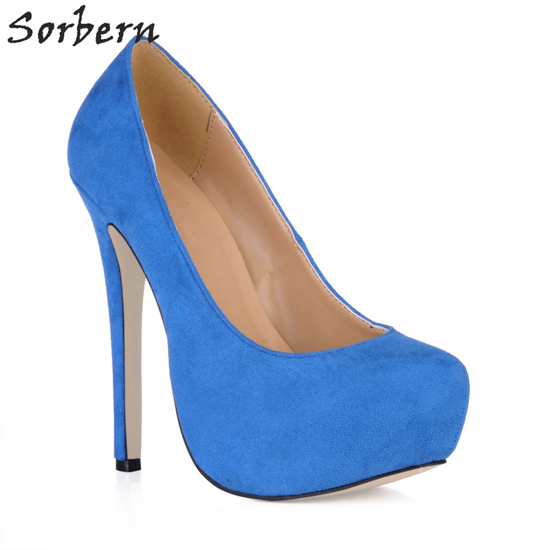Sorbern Women Shoes High Heel Fetish Chaussure Femme Runway Women Pumps Custom Colors Diy Red Bottom High Heels Lady Pumps