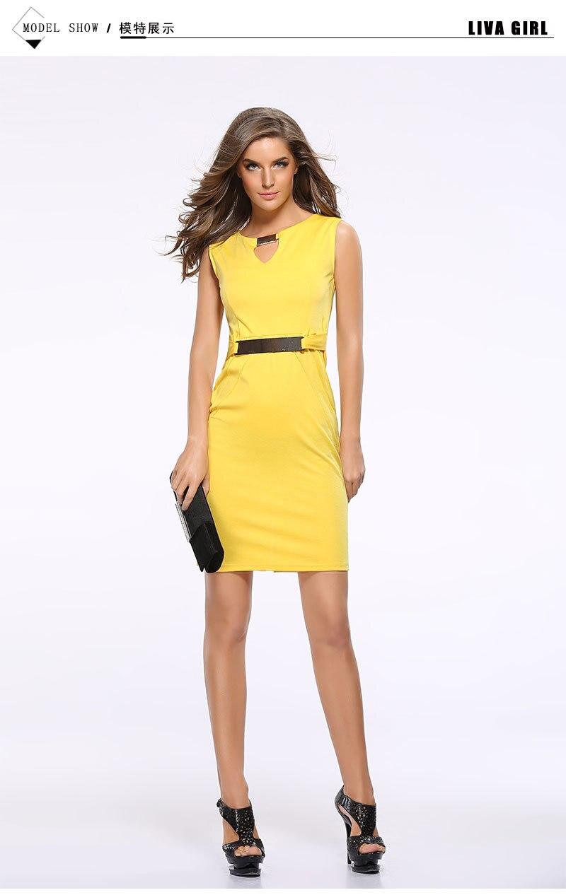 Plus Size 2019 Spring Summer Dress Vintage Casual Work Office Dress  Temperament Pencil Dress metal button Women Dresses Vestidos
