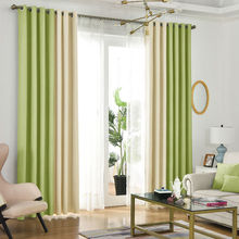 Летний стиль, льняные занавески для гостиной, Затемненные занавески, белые, красные, бежевые, синие, серые, зеленые, сплошные занавески, Лоскутная отделка окна