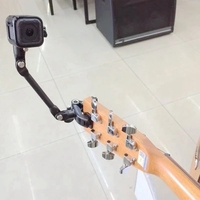 GoPro Music Jam Adjustable Music Clamp Mount With Tripod Clip For Gopro 4 Session Gopro 4