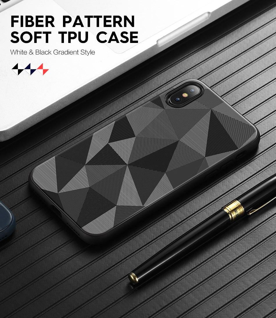Geometric Triangles Phone Case