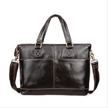 Genuine leather Men Crossbody Bag iPad Men's Handbags Designer Messenger Bags