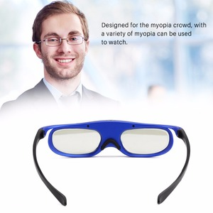 Image 4 - FORNORM GS1000 Battery Universal DLP 3D Glasses Active Shutter 96 144Hz For Optoma BenQ Acer Viewsonic for Dell JmGO XGIMI 3DTV