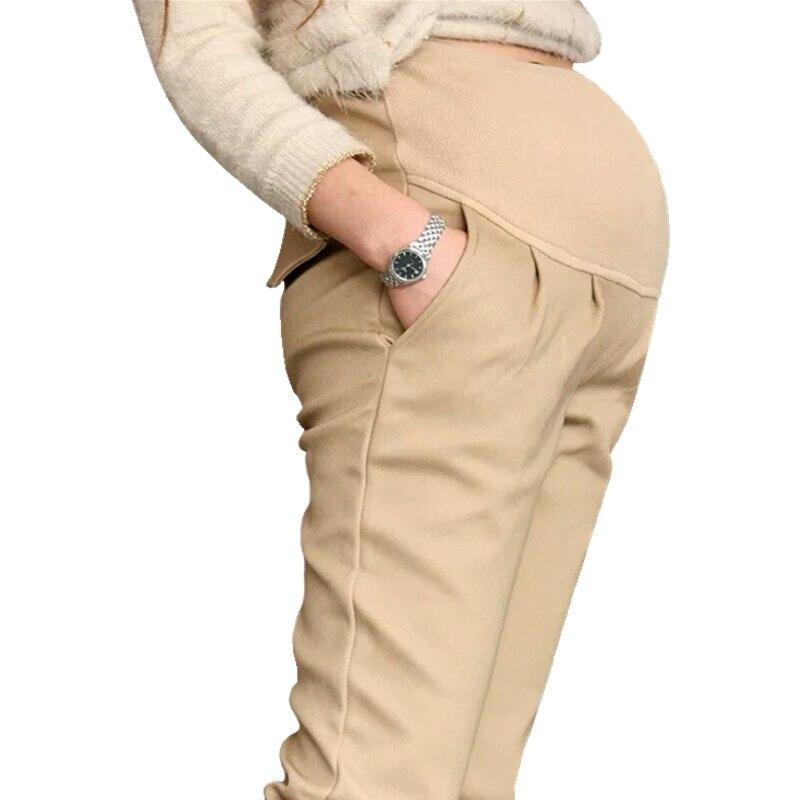 New cotton pants pants belly pants pregnancy pants can adjust pregnant women clothing Gestante Pantalones Embarazada gestante