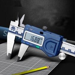 Calibrador Vernier electrónico de alta precisión, calibrador de aceite de 0-150-200-300 Mm para la regla de calibrador de pantalla de la serie Industrial Syntek
