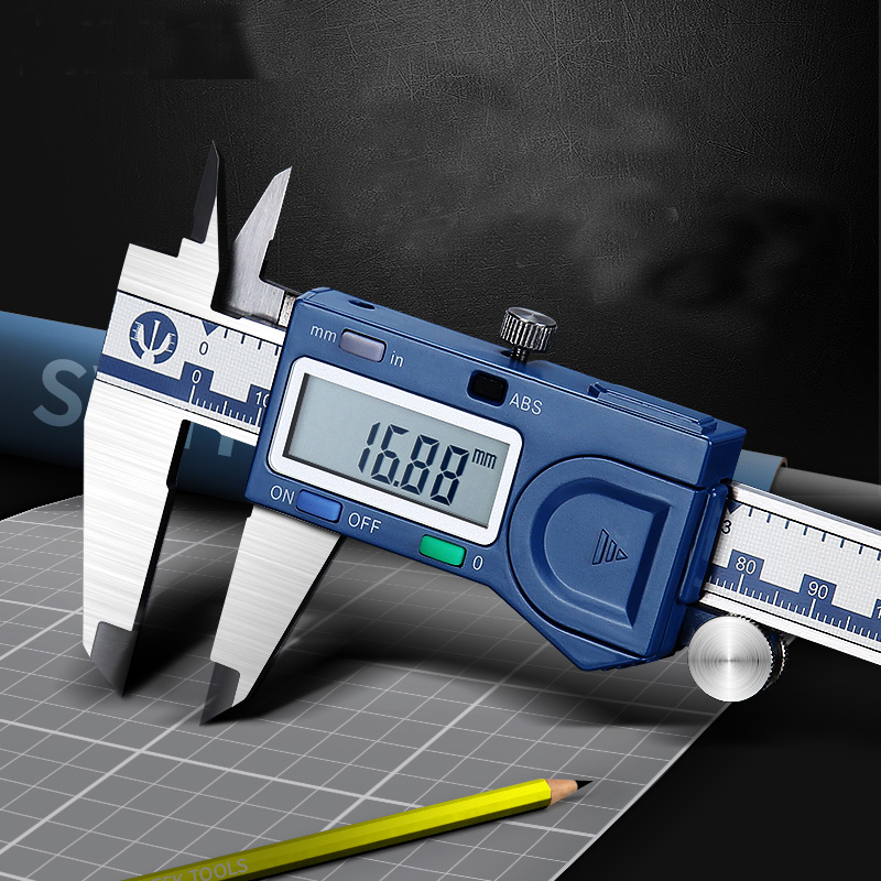 High Precision Electronic Vernier Caliper 0-150-200-300 Mm Oil Caliper For Syntek Industrial Series Display Caliper ruler