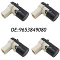 4PCS 9653849080 Fits Peugeot 207CC Citroen C4 C5 Parking Sensor PDC 66206989068 7701062074 7711135326,8200417705,6590H1