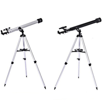High Quality 675 Times Zooming Astronomical Telescope 90060 Monocular Refractive Telescope with Portable Tripod and Carrying Bag