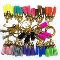 2017 New Arrive 3 Tassel Key Chain Key Ring 3 cm  Bag Pendant For Car Key Holder Cute Charm Jewelry