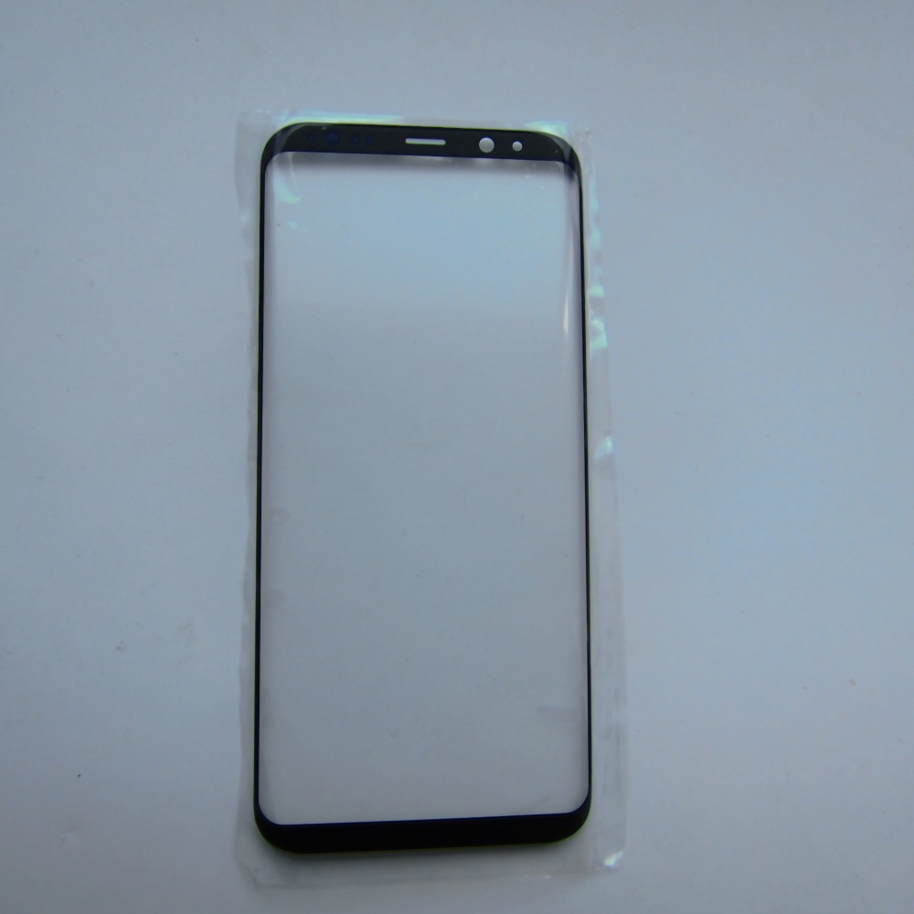 5x Soopom Genuine Front Outer Screen Glass Lens Black Replacement For Samsung Galaxy Note 8 Front