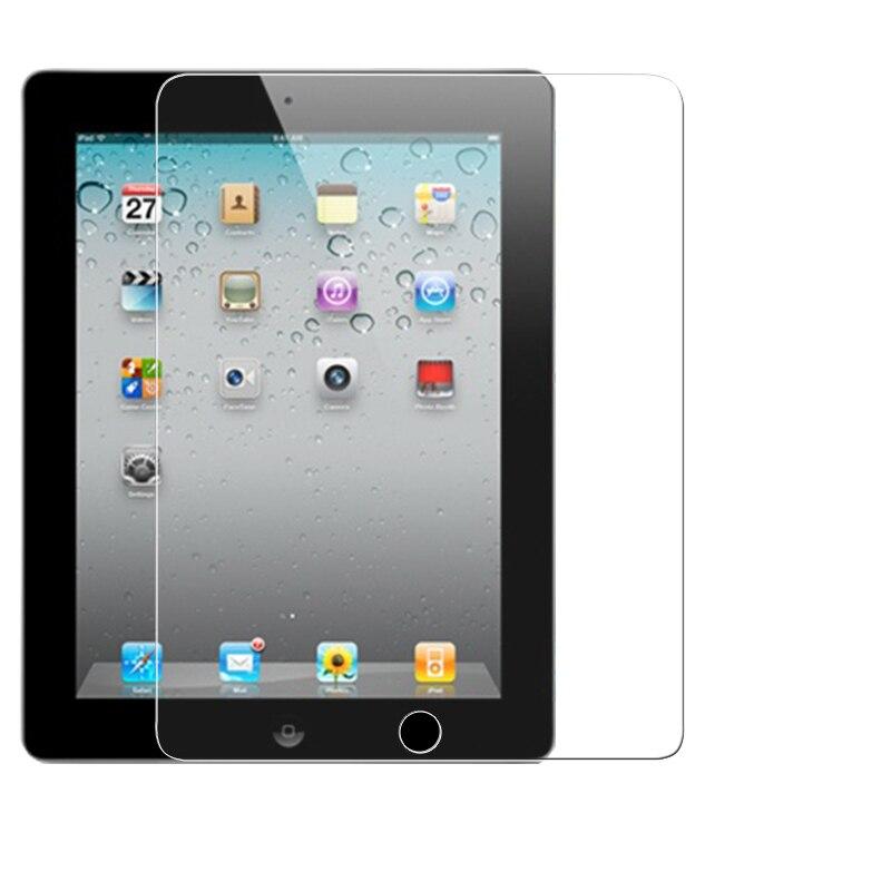 فیلم محافظ صفحه نمایش HD Anti Shatter Tempered Glass for iPad 2 3 4 Tablet PDAs ضد انفجار فیلم محافظ صفحه نمایش