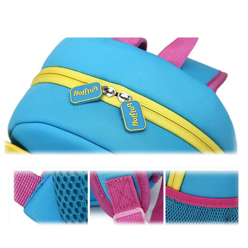 KOKOCAT 3D Cute Butterfly Waterproof Children School Bags Toddler School Backpacks for Girls Kindergarten Bag Mochila Infantil in Backpacks from Luggage Bags