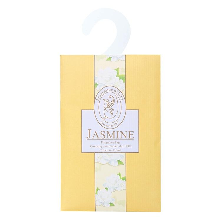 Aromatherapy Natural Smell Incense Wardrobe Sachet Air Fresh Scent Bag Perfume Lavender Rose Jasmine Lily Flower lavender Lemon  (5)
