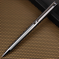 Good quality birthday gift trade single ball pen pen metal pen refills G2 rotary stainless steel materials and fine workmanship