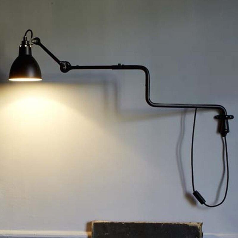 Steady Nordic Loft Wall Light For Bedroom Modern Sconce Wall Lamp For Living Room Modern Light Fixture Led Lamps