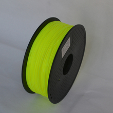 High strength Yellow color 3d printer filament PLA/ABS 1.75mm/3mm 1KG wholesale price