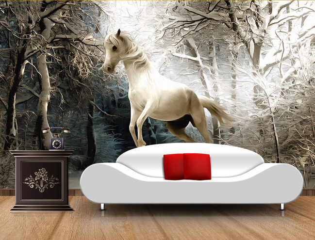 Online Buy Wholesale horse wallpaper from China horse wallpaper ...