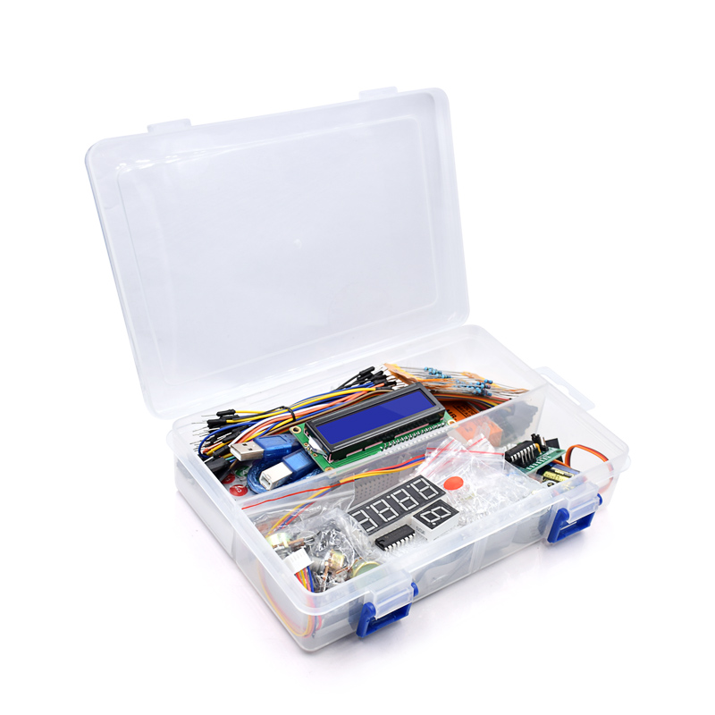2019 New R3 Board Project Super Starter Kit For Arduino Stepper Motor 1602 LCD DIY Project