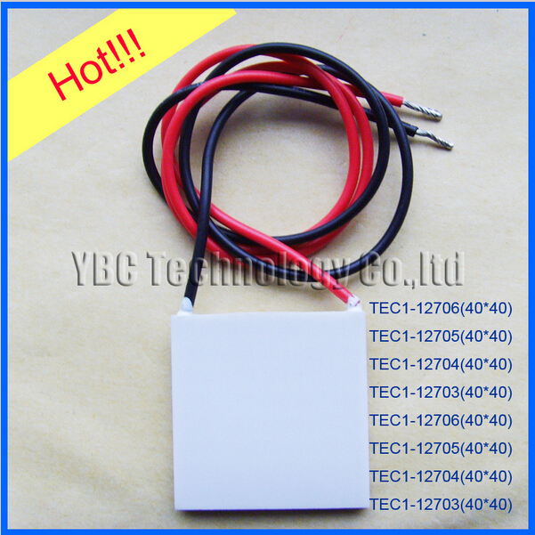 Hot sale Thermoelectric Cooler Peltier 10pcs lot TEC1 12706 50 50 4 8mm TEC1 12706