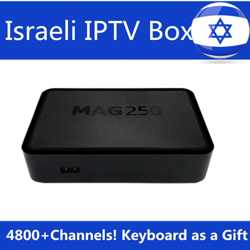 Israel IPTV Box Hebrew IPTV Box Mag250 Linux Processeur STi7105 RAM 256 Mb Top Swedish Norway IPTV Subscription Smart TV Box israel and palestine