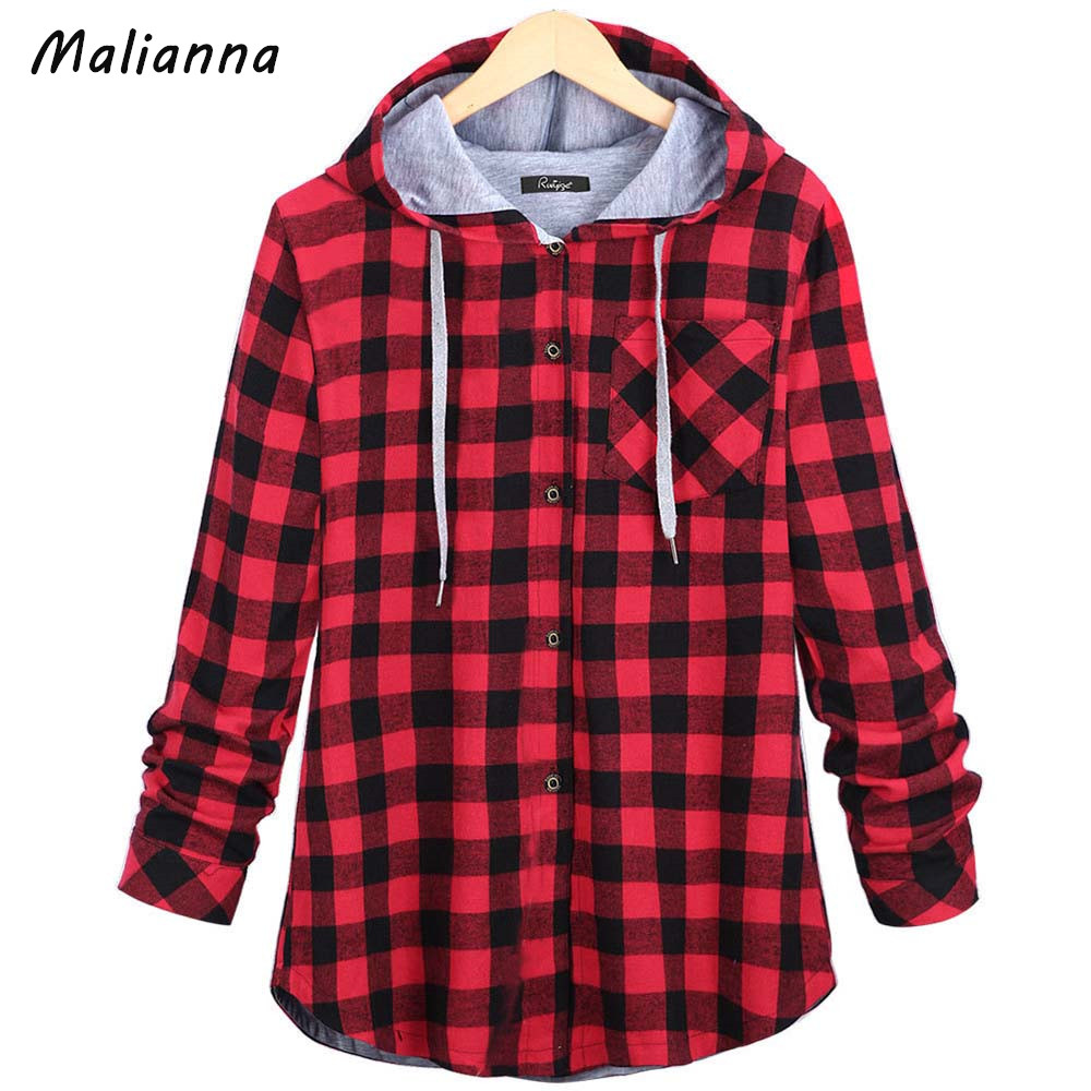 Online Get Cheap Hooded Plaid Jacket -Aliexpress.com | Alibaba Group