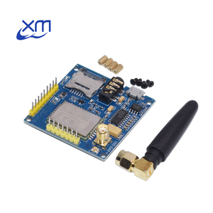 Image 2 - 10 * A6 GPRS פרו סידורי GPRS GSM מודול Core DIY Developemnt לוח TTL RS232 עם אנטנת GPRS אלחוטי מודול נתונים להחליף SIM900