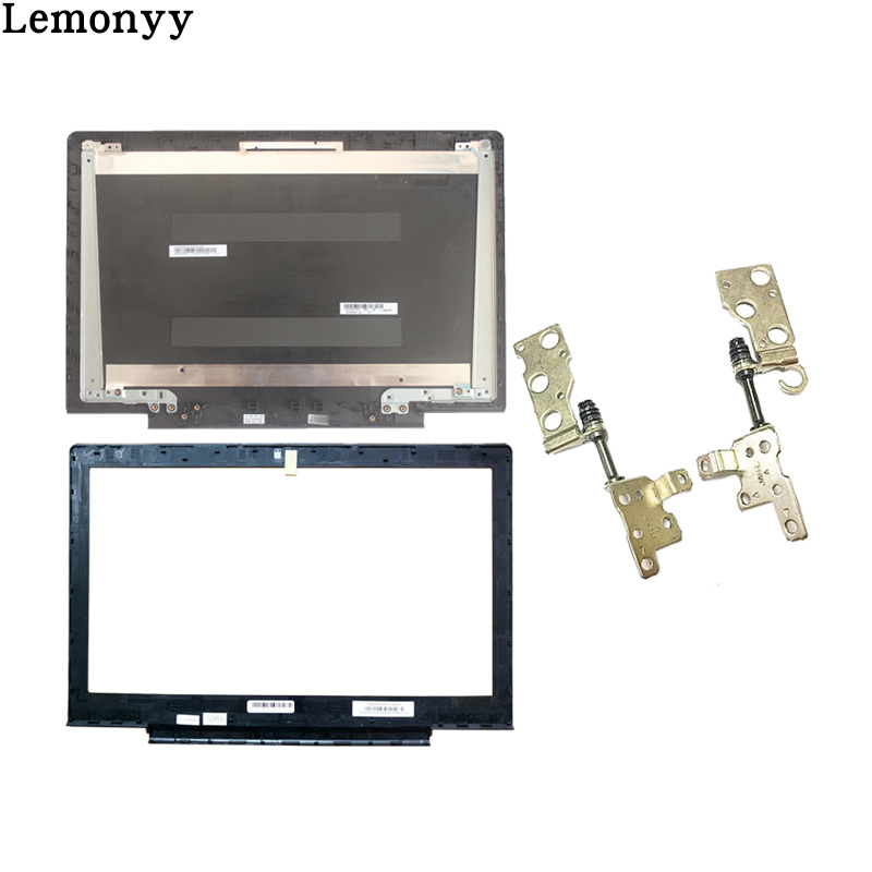 New cover case For Lenovo Ideapad 700-15 700-15isk Laptop LCD Back Cover Black/LCD Bezel Cover/LCD hinges left and right set lcd nokia 700 n700