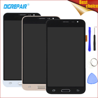 Black White Gold For Samsung Galaxy J3 2016 J320F J320FN J320M LCD Display Digitizer Touch Screen